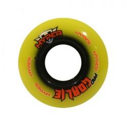 Goalie wheels Hyper gelb