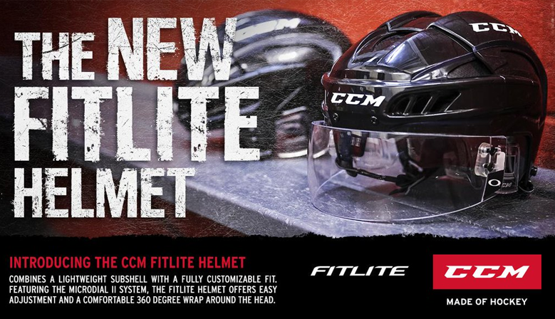 CCM Fitlite Helmets